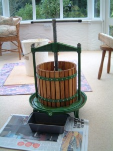 Vigo apple press