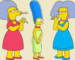The Bouvier sisters - Marge, Patty & Selma